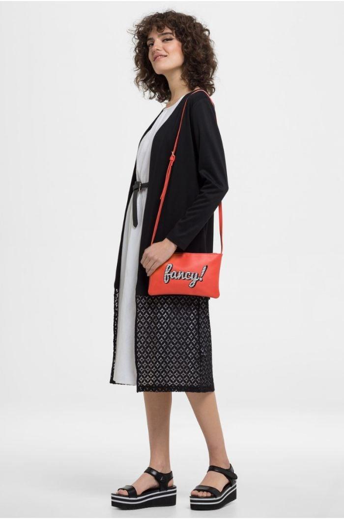 Short Abaya With Laser Cut Detailing