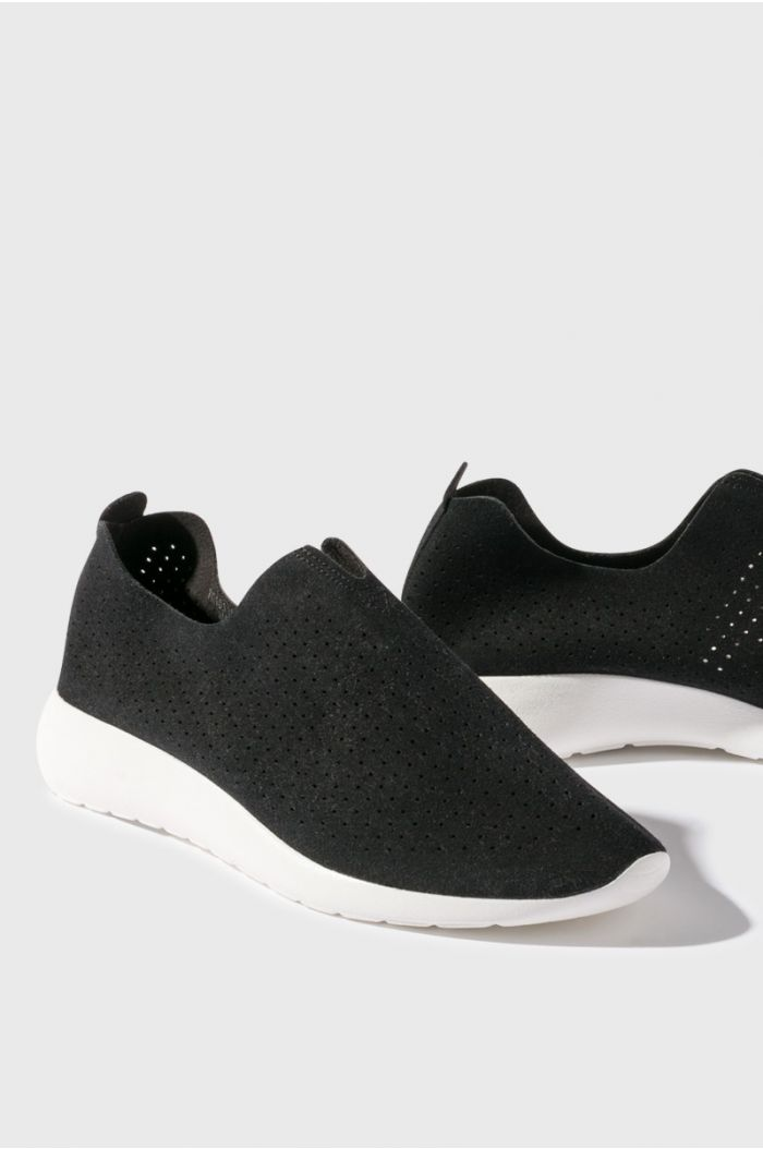 Perforated Slip On shoes