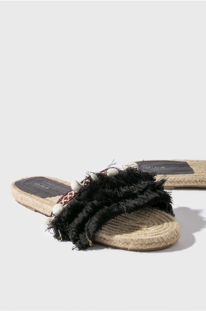 Fringes Sandal
