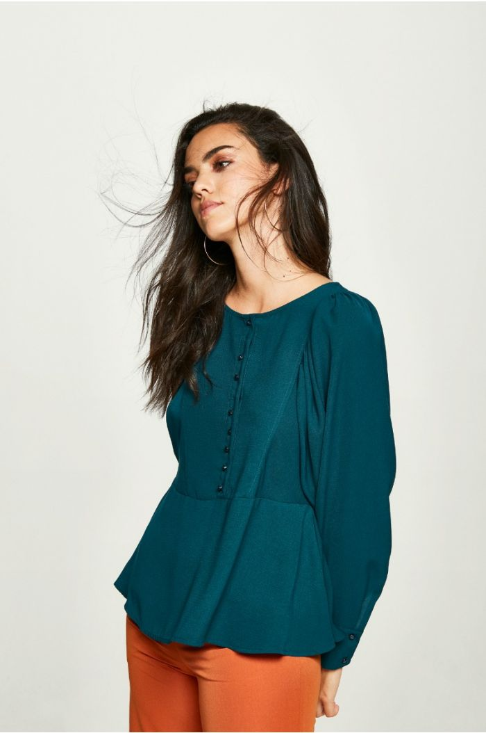 Front Fastening Blouse