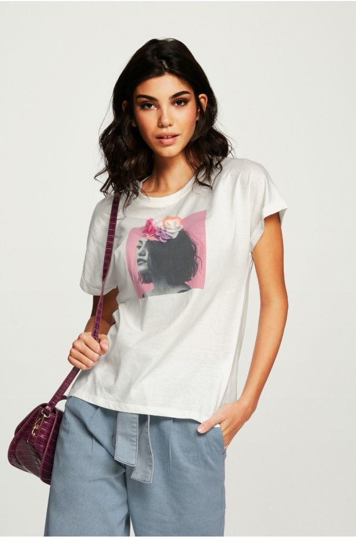 Front Print T - Shirt