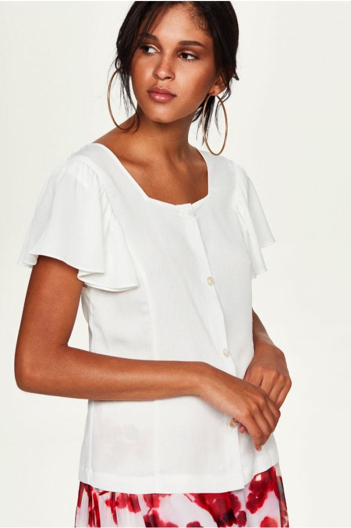 Butterfly Sleeves Shirt