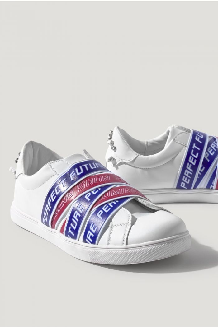 Ribbons Wrapped Sneakers