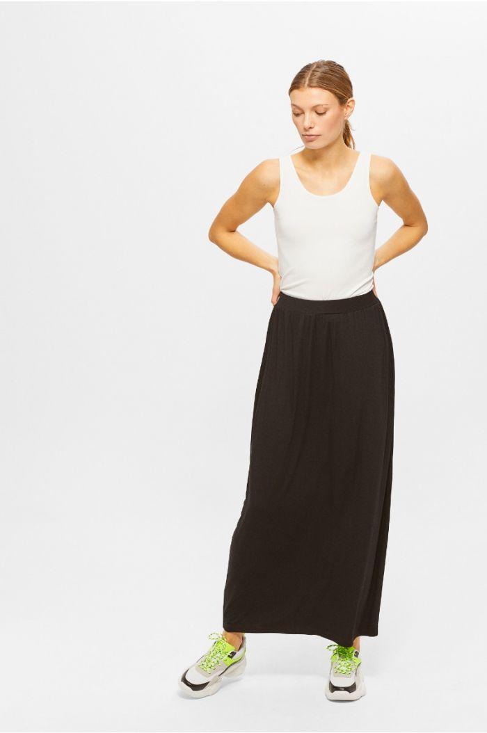 Plain Maxi Skirt