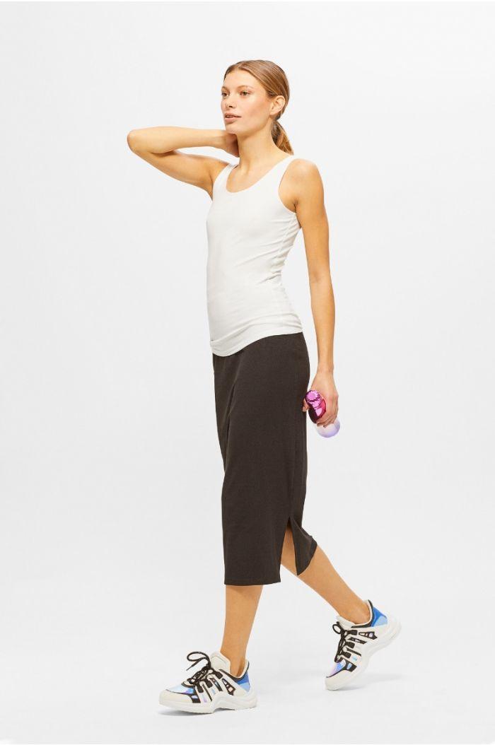 Plain midi Skirt