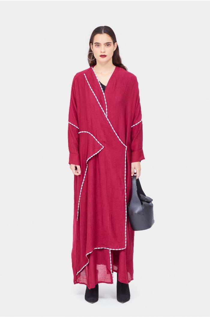 Wrap design Abaya