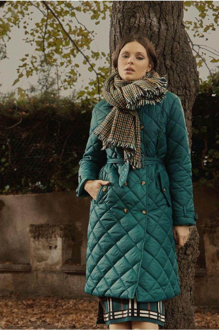Textured pattern coat