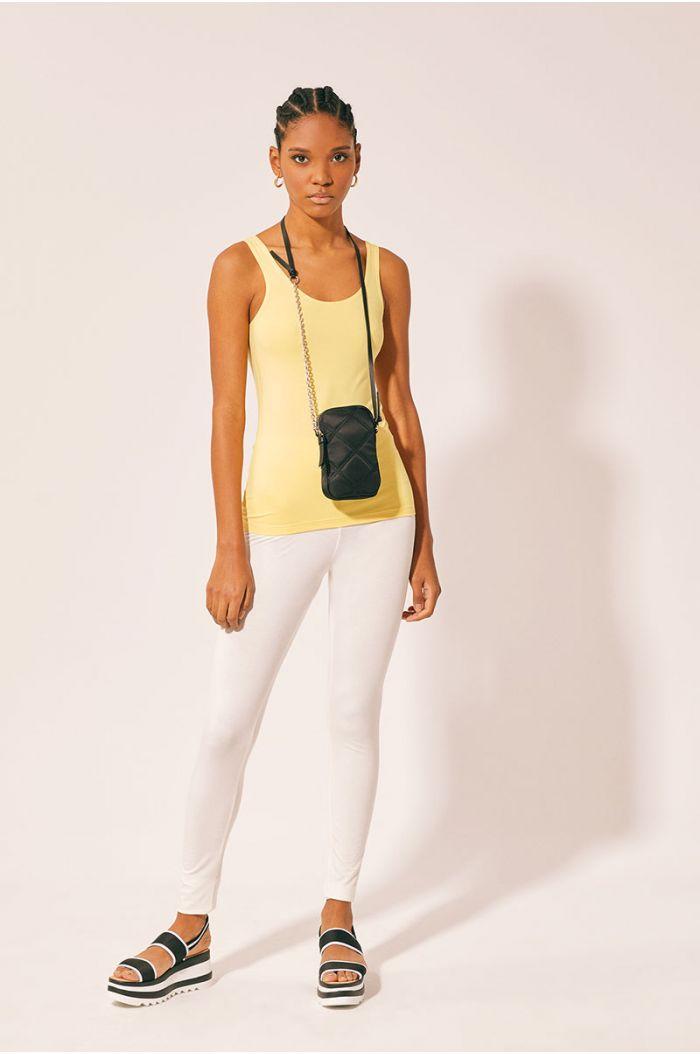 Model wears Plain leggings